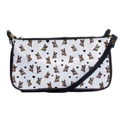 French Bulldog Shoulder Clutch Bags by Valentinaart