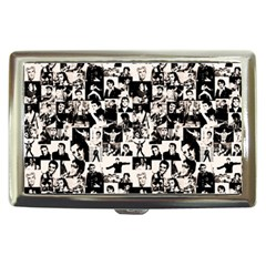 Elvis Presley Pattern Cigarette Money Cases by Valentinaart