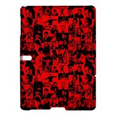 Elvis Presley Pattern Samsung Galaxy Tab S (10 5 ) Hardshell Case  by Valentinaart