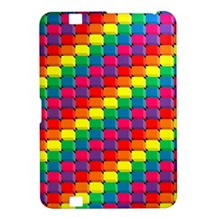 Colorful 3d rectangles     Samsung Galaxy Premier I9260 Hardshell Case by LalyLauraFLM