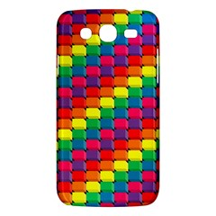 Colorful 3d Rectangles     Samsung Galaxy Duos I8262 Hardshell Case by LalyLauraFLM