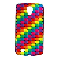 Colorful 3d Rectangles     Samsung Galaxy Ace 3 S7272 Hardshell Case by LalyLauraFLM