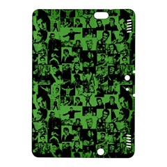 Elvis Presley Pattern Kindle Fire Hdx 8 9  Hardshell Case by Valentinaart