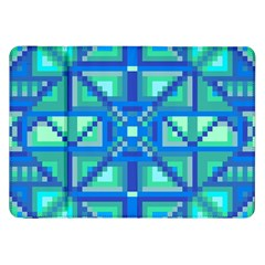 Grid Geometric Pattern Colorful Samsung Galaxy Tab 8 9  P7300 Flip Case by Nexatart