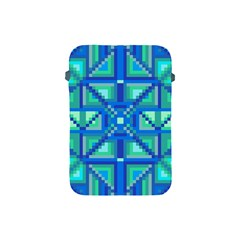 Grid Geometric Pattern Colorful Apple Ipad Mini Protective Soft Cases by Nexatart