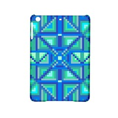 Grid Geometric Pattern Colorful Ipad Mini 2 Hardshell Cases by Nexatart