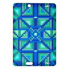 Grid Geometric Pattern Colorful Amazon Kindle Fire Hd (2013) Hardshell Case by Nexatart