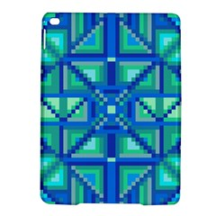Grid Geometric Pattern Colorful Ipad Air 2 Hardshell Cases by Nexatart