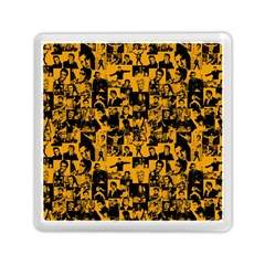 Elvis Presley Pattern Memory Card Reader (square)  by Valentinaart