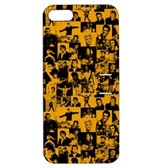 Elvis Presley Pattern Apple Iphone 5 Hardshell Case With Stand by Valentinaart