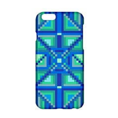 Grid Geometric Pattern Colorful Apple Iphone 6/6s Hardshell Case