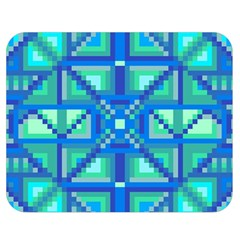 Grid Geometric Pattern Colorful Double Sided Flano Blanket (medium)  by Nexatart