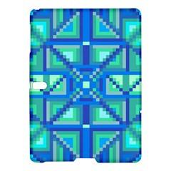 Grid Geometric Pattern Colorful Samsung Galaxy Tab S (10 5 ) Hardshell Case