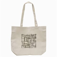 Structure Pattern Network Tote Bag (cream) by Nexatart