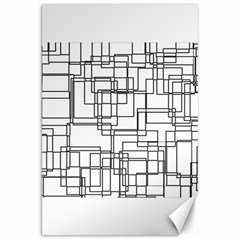 Structure Pattern Network Canvas 20  X 30   by Nexatart