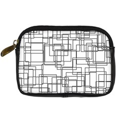 Structure Pattern Network Digital Camera Cases by Nexatart