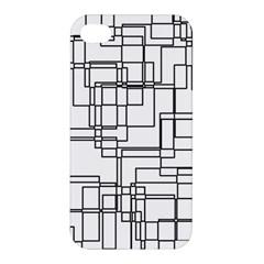Structure Pattern Network Apple Iphone 4/4s Hardshell Case by Nexatart