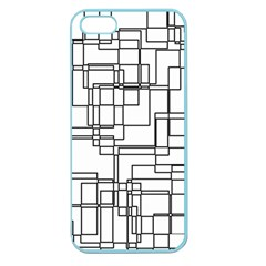 Structure Pattern Network Apple Seamless Iphone 5 Case (color)