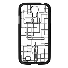 Structure Pattern Network Samsung Galaxy S4 I9500/ I9505 Case (black) by Nexatart