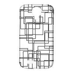 Structure Pattern Network Samsung Galaxy S4 Classic Hardshell Case (pc+silicone) by Nexatart