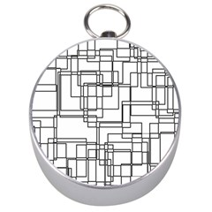 Structure Pattern Network Silver Compasses