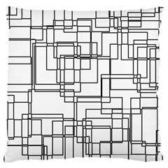 Structure Pattern Network Standard Flano Cushion Case (two Sides) by Nexatart