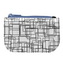 Structure Pattern Network Large Coin Purse