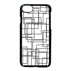Structure Pattern Network Apple Iphone 7 Seamless Case (black) by Nexatart