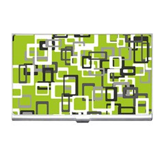 Pattern Abstract Form Four Corner Business Card Holders by Nexatart