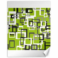 Pattern Abstract Form Four Corner Canvas 18  X 24   by Nexatart