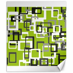Pattern Abstract Form Four Corner Canvas 20  X 24