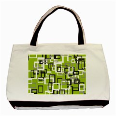 Pattern Abstract Form Four Corner Basic Tote Bag (two Sides) by Nexatart