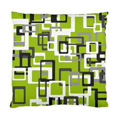 Pattern Abstract Form Four Corner Standard Cushion Case (two Sides) by Nexatart