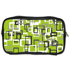 Pattern Abstract Form Four Corner Toiletries Bags 2 Side by Nexatart