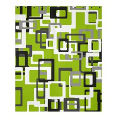 Pattern Abstract Form Four Corner Shower Curtain 60  X 72  (medium)  by Nexatart