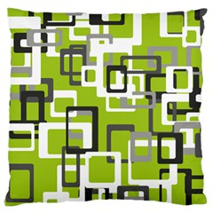 Pattern Abstract Form Four Corner Large Cushion Case (two Sides)