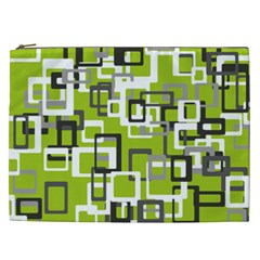 Pattern Abstract Form Four Corner Cosmetic Bag (xxl)  by Nexatart
