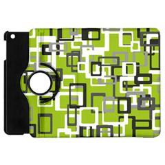 Pattern Abstract Form Four Corner Apple Ipad Mini Flip 360 Case