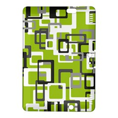 Pattern Abstract Form Four Corner Kindle Fire Hdx 8 9  Hardshell Case by Nexatart