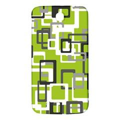 Pattern Abstract Form Four Corner Samsung Galaxy Mega I9200 Hardshell Back Case