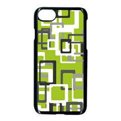 Pattern Abstract Form Four Corner Apple Iphone 7 Seamless Case (black) by Nexatart