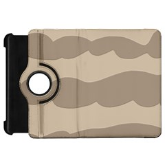 Pattern Wave Beige Brown Kindle Fire Hd 7  by Nexatart