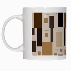 Pattern Wallpaper Patterns Abstract White Mugs by Nexatart