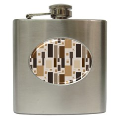 Pattern Wallpaper Patterns Abstract Hip Flask (6 Oz)