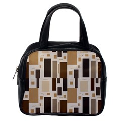 Pattern Wallpaper Patterns Abstract Classic Handbags (one Side)