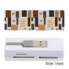 Pattern Wallpaper Patterns Abstract Memory Card Reader (stick)  by Nexatart