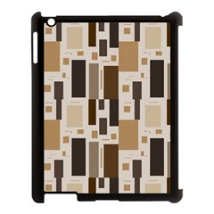 Pattern Wallpaper Patterns Abstract Apple Ipad 3/4 Case (black) by Nexatart