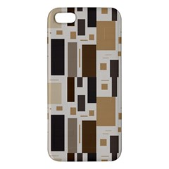 Pattern Wallpaper Patterns Abstract Apple Iphone 5 Premium Hardshell Case by Nexatart