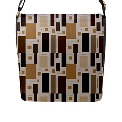 Pattern Wallpaper Patterns Abstract Flap Messenger Bag (l)