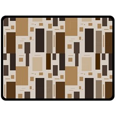 Pattern Wallpaper Patterns Abstract Double Sided Fleece Blanket (large)  by Nexatart